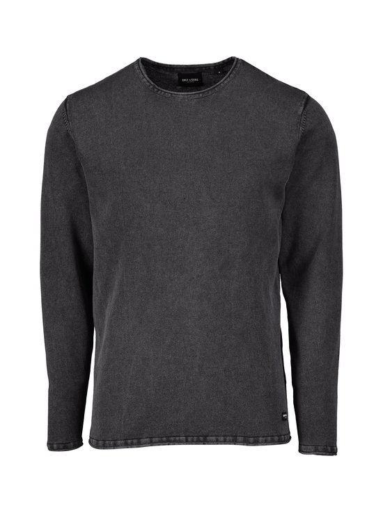 Only & Sons - OnsGarson Wash -puuvillaneule - BLACK | Stockmann - photo 1