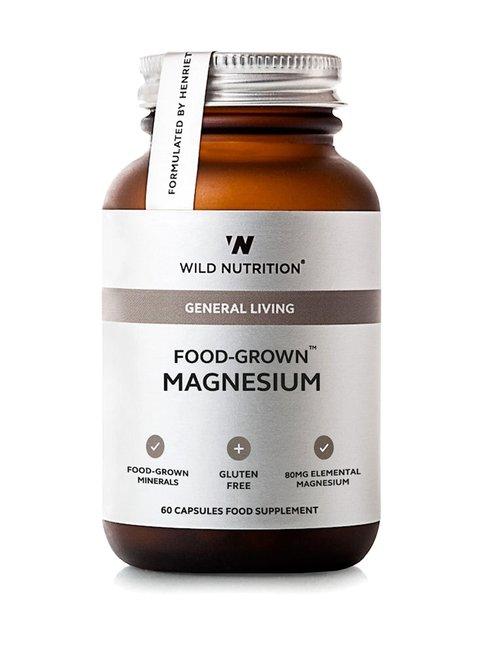 Food-Grown Magnesium -ravintolisä 60 kaps.