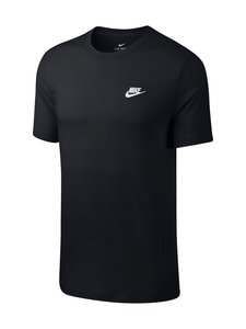 Nike - M Sportswear Club -paita - BLACK/WHITE | Stockmann