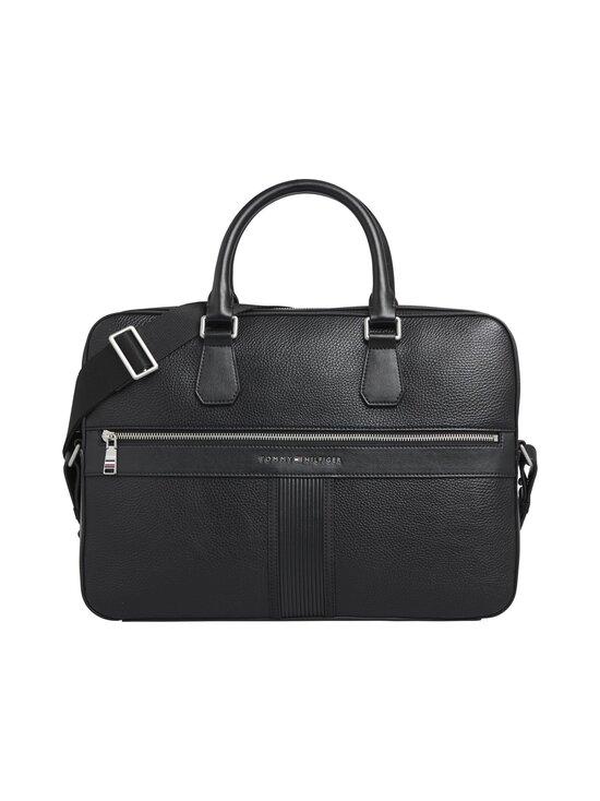 Tommy Hilfiger - TH Downtown Slim Computer Bag -laukku - BDS BLACK   Stockmann - photo 1