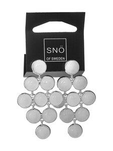Snö Of Sweden - Agatha Small Stone Pendant -korvakorut - WHITE   Stockmann
