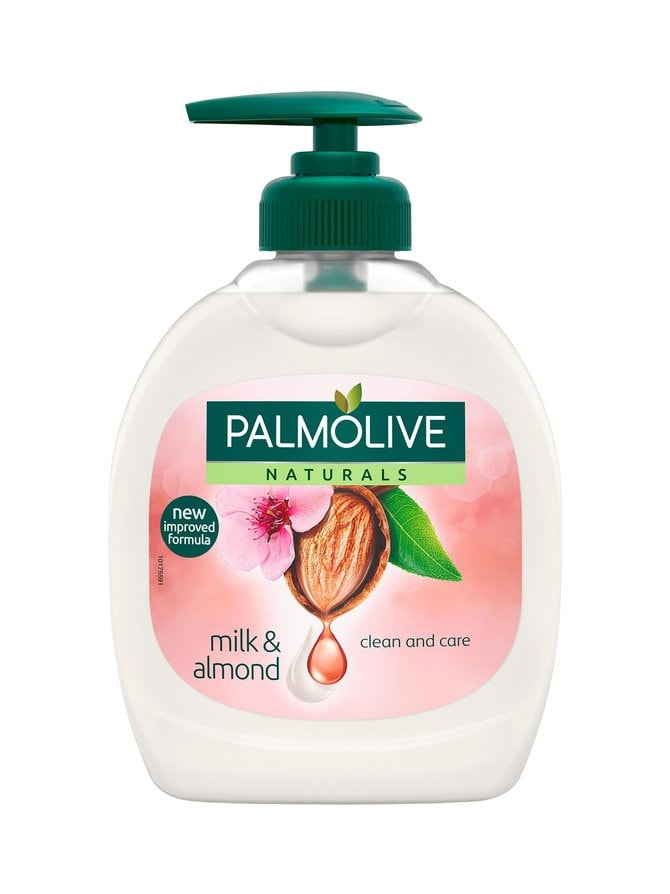 Milk & Almond -nestesaippua 300 ml