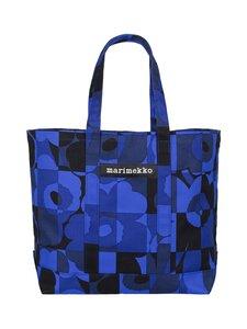 Marimekko - Peruskassi Ruutu-Unikko -laukku - 555 BLUE,BLUE | Stockmann