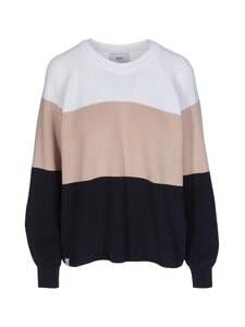 Makia - Ronya Knit -neulepaita - NAVY-ROSE | Stockmann