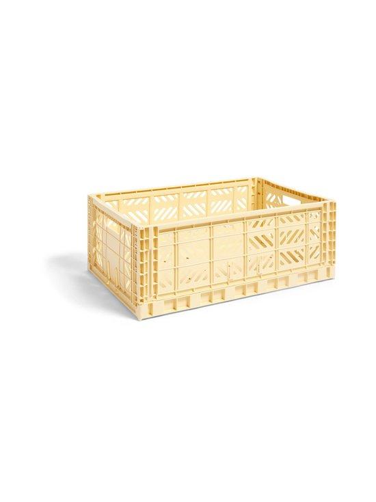 HAY - Colour Crate L -laatikko 60 x 40 x 22 cm - LIGHT YELLOW   Stockmann - photo 1