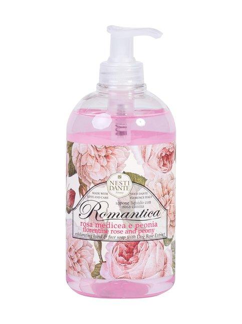 Romantica Rose & Peony Liguid Soap -nestesaippua 500 ml