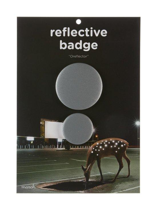 March Design - Oreflector- heijastava rintamerkki 2 kpl - SILVER (HOPEA) | Stockmann - photo 1