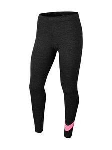 Nike - Leggingsit - BLACK HEATHER/SUNSET PULSE | Stockmann