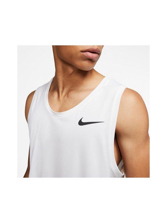 Nike - Pro Tank -paita - 100 WHITE/BLACK | Stockmann - photo 3