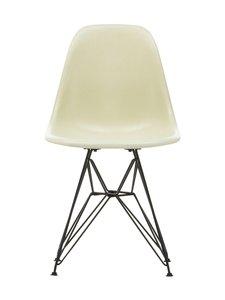 Vitra - Eames DSR Fiberglass -tuoli - 01 EAMES PARCHMENT/30 BASIC DARK | Stockmann