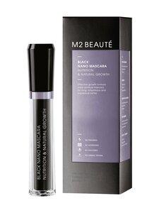 M2 Beauté - Black Nano Mascara Nutrition & Natural Growth -ripsiväri 6 ml | Stockmann