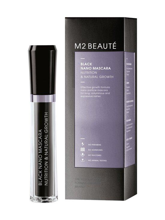 M2 Beauté - Black Nano Mascara Nutrition & Natural Growth -ripsiväri 6 ml - BLACK | Stockmann - photo 1