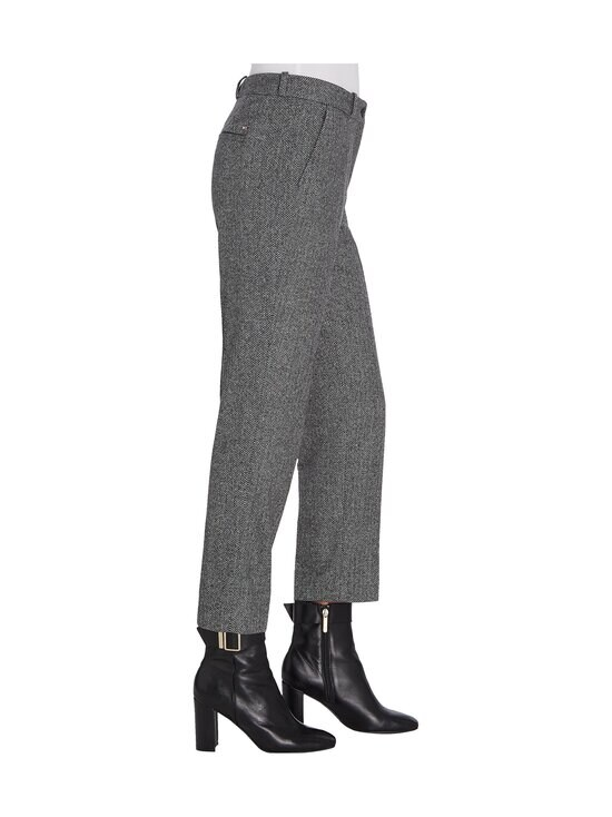 Tommy Hilfiger - Cashmere Wool Blend Ankle Pant -villasekoitehousut - 0IN GREY HERRINGBONE | Stockmann - photo 4