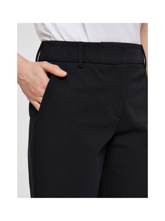 Selected - SlfRia MW Cropped Pant -housut - C-N10 BLACK | Stockmann - photo 5