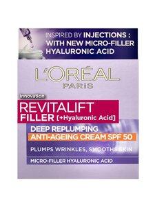 L'Oréal Paris - Revitalift Filler day cream SPF 50 -päivävoide 50 ml | Stockmann