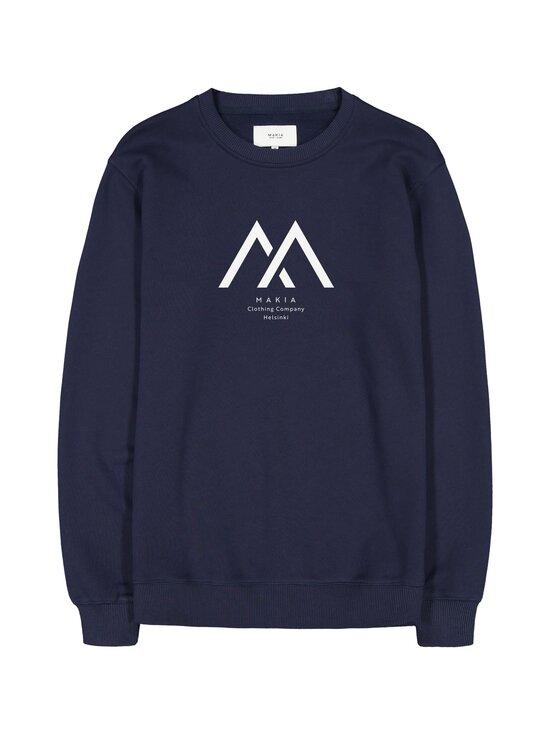 Makia - Seafarer Light Sweatshirt -collegepaita - 661 DARK BLUE | Stockmann - photo 1