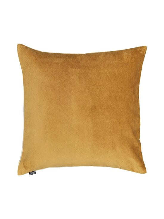 Casa Stockmann - Velvet-tyynynpäällinen 50 x 50 cm - BROWN   Stockmann - photo 1