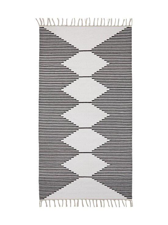 Casa Stockmann - Formula-puuvillamatto 90 x 160 cm - WHITEBLACK | Stockmann - photo 1