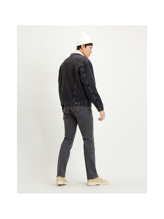 Levi's - Sherpa Trucker -farkkutakki - BLACK | Stockmann - photo 4