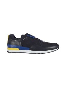 Ted Baker London - Flowem Runner Sneaker -nahkasneakerit - 10 NAVY | Stockmann