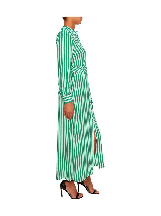 Tommy Hilfiger - LONG SHIRT DRESS -mekko - 0CJ BANKER STP / PRIMARY GREEN   Stockmann - photo 4