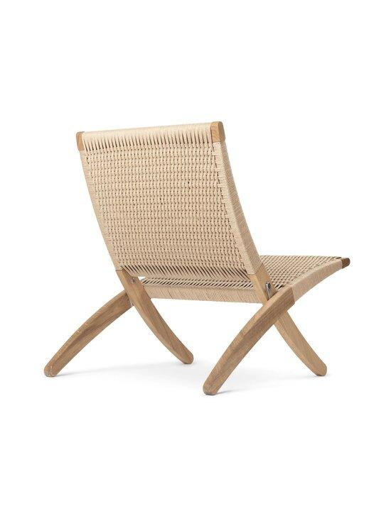 Carl Hansen&Son - Cuba Chair -tuoli - OIL OAK / NATURAL CORD   Stockmann - photo 2