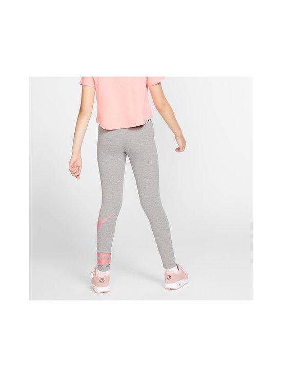 Nike - Sportswear Older Kids' Graphic Leggings -leggingsit - CARBON HEATHER/PINK GAZE | Stockmann - photo 4