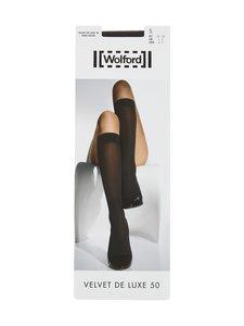 Wolford - Velvet De Luxe 50 den -polvisukat - BLACK | Stockmann