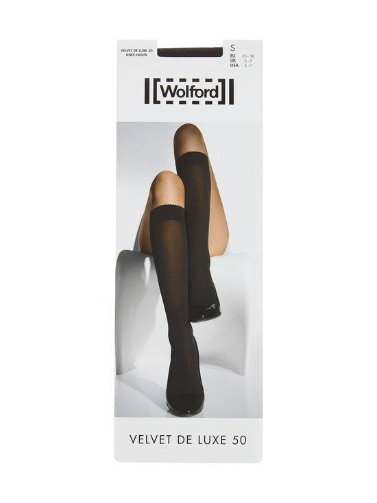 Wolford - Velvet De Luxe 50 den -polvisukat - BLACK | Stockmann - photo 1