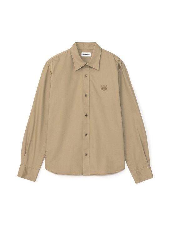 Kenzo - Tiger Crest Shirt -kauluspaita - 13 DARK BEIGE | Stockmann - photo 1