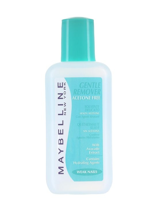 Maybelline - Gentle Nail Polish Remover -kynsilakanpoistoaine 125 ml - null | Stockmann - photo 1