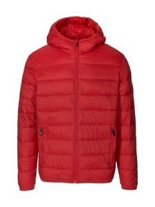 Jack & Jones - JjeMagic Puffer Hood -toppatakki - TANGO RED | Stockmann