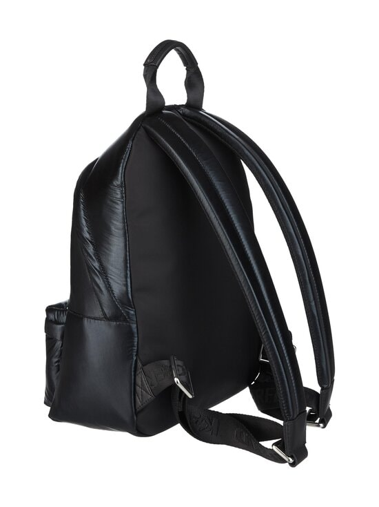 Karl Lagerfeld - K/Ikonik Nylon Medium Backpack Metallic -reppu - 980 MTLLC BLK | Stockmann - photo 2
