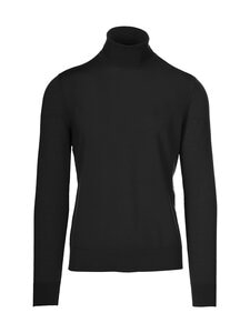 Samsoe & Samsoe - Flemming Turtle Neck -merinovillaneule - BLACK | Stockmann