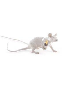 Seletti - Mouse Lie Down -valaisin - VALKOINEN | Stockmann