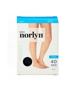 Norlyn - Basic Maxi 40 den -sukkahousut - BLACK (MUSTA) | Stockmann