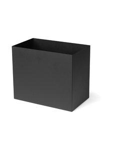 Ferm Living - Plant Box Pot Large -laatikko - BLACK | Stockmann