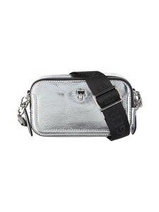 Karl Lagerfeld - K/Ikonik 3D Pin Camera Bag -nahkalaukku - 290 SILVER | Stockmann