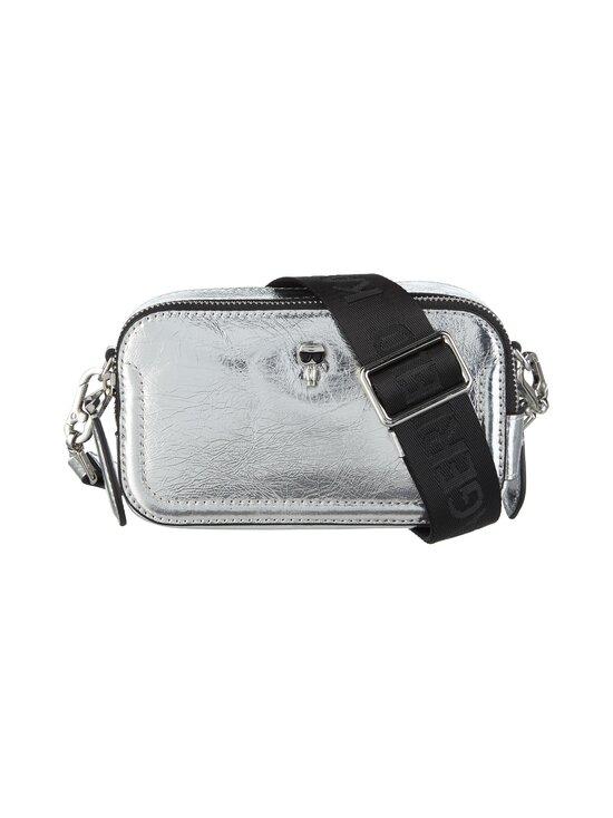 Karl Lagerfeld - K/Ikonik 3D Pin Camera Bag -nahkalaukku - 290 SILVER | Stockmann - photo 1