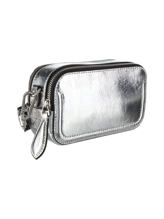 Karl Lagerfeld - K/Ikonik 3D Pin Camera Bag -nahkalaukku - 290 SILVER | Stockmann - photo 2