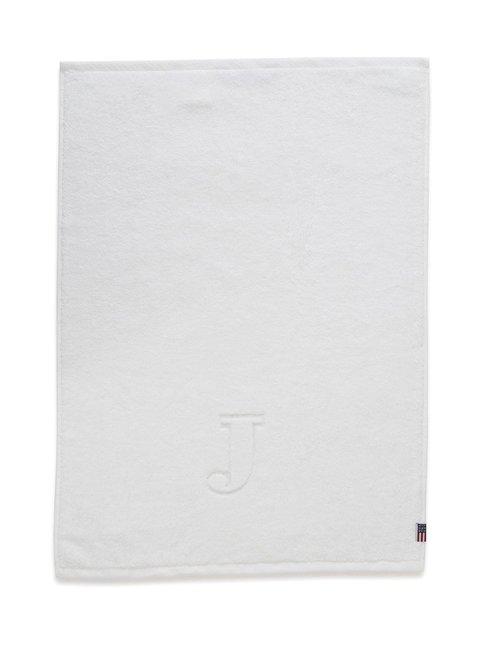 Monogram-pyyhe, J