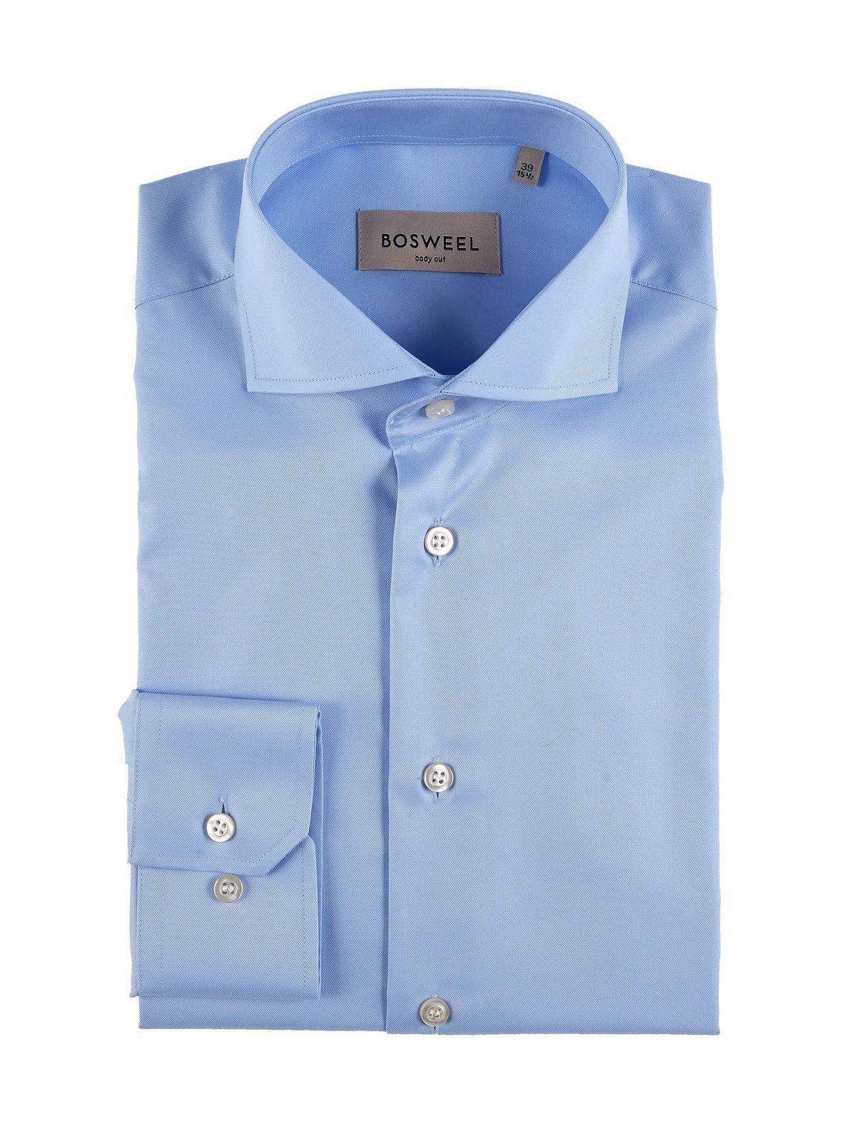 Sininen Bosweel Body Cut -kauluspaita 7-394-7  4e881b4e0a