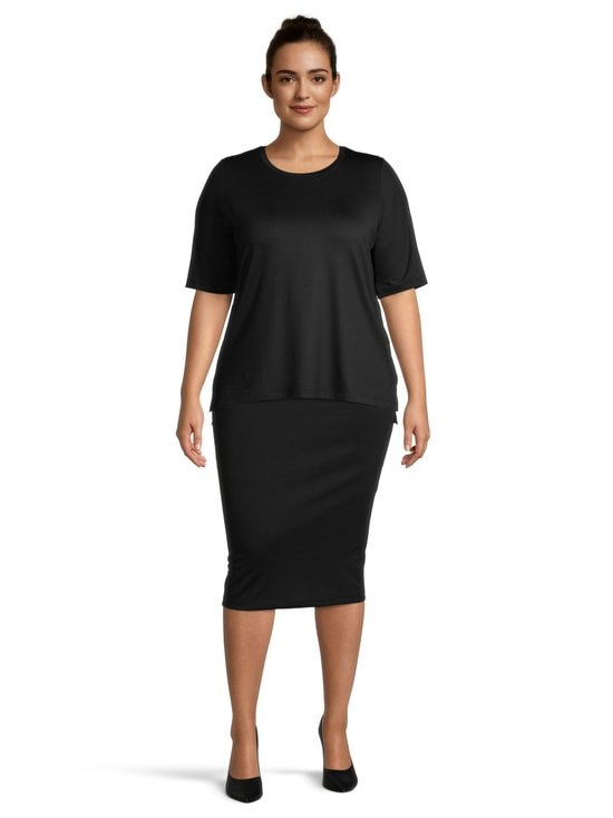 cut & pret PLUS - Jasmin Plus -paita - BLACK | Stockmann - photo 2