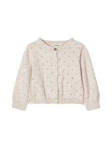 Lil' Atelier - NbfGliva LS Short Knit Cardigan -neuletakki - CRYSTAL GRAY | Stockmann