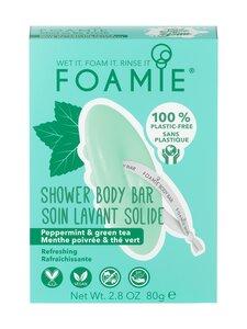 Foamie - 2in1 Body Bar Mint to Be Fresh -palasaippua 90 g | Stockmann
