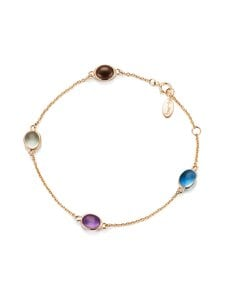 Efva Attling - Love Beads Flow Bracelet -rannekoru - GOLD & PRECIOUS STONES | Stockmann