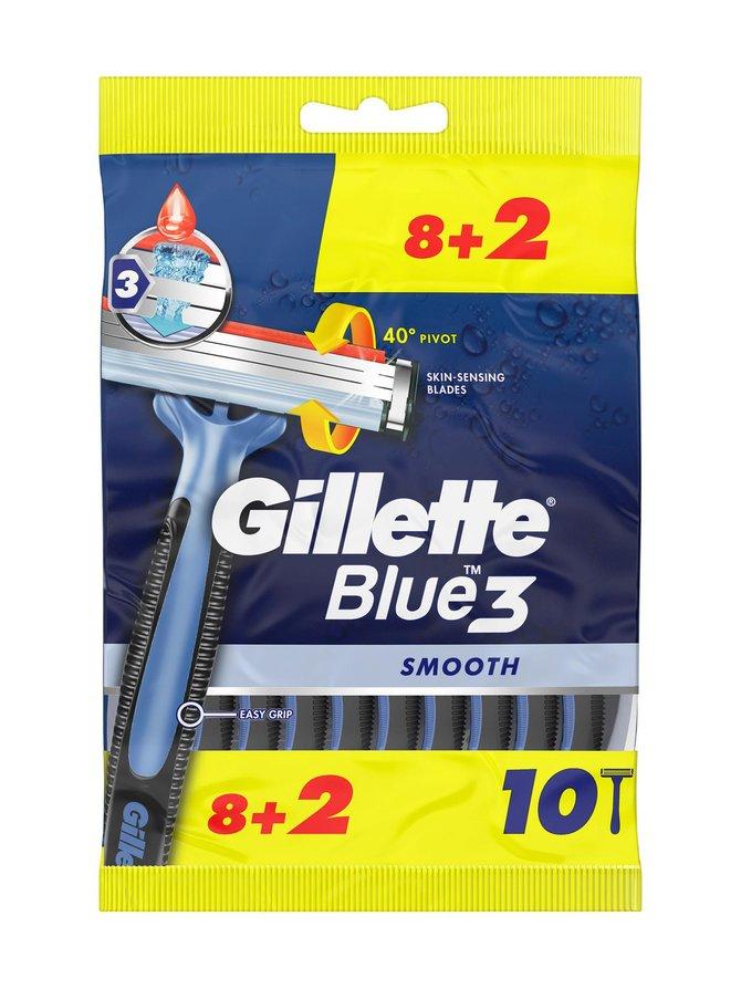 Blue3 Value Pack -partahöylä 8 + 2 kpl