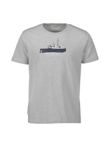 Makia - Steamboat T-Shirt -paita - 921 LIGHT GREY | Stockmann