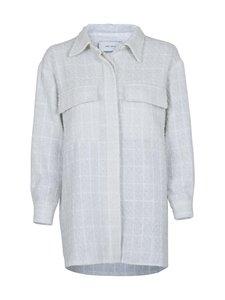 Neo Noir - Lin Boucle Jacket -paita - 120 WHITE | Stockmann
