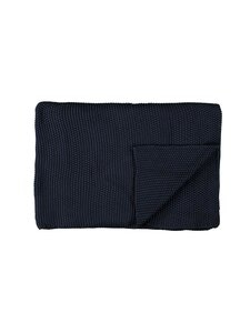 Marc O'Polo Home - Nordic Knit Plaid -huopa 130 x 170 cm - INDIGO BLUE | Stockmann